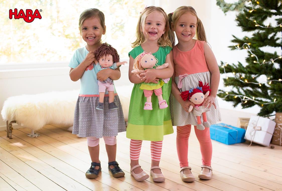 Haba Puppen-Partnerlooks