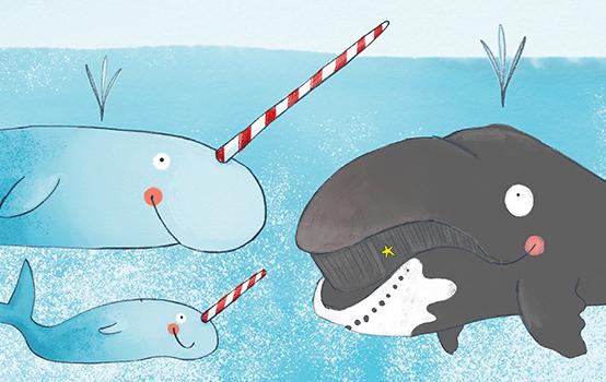 Drei Fragen zu ...  Narwal, Grönlandwal und anderen Tieren!