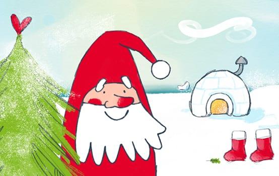 Drei Fragen zum ... Briefkasten des Weihnachtsmanns!