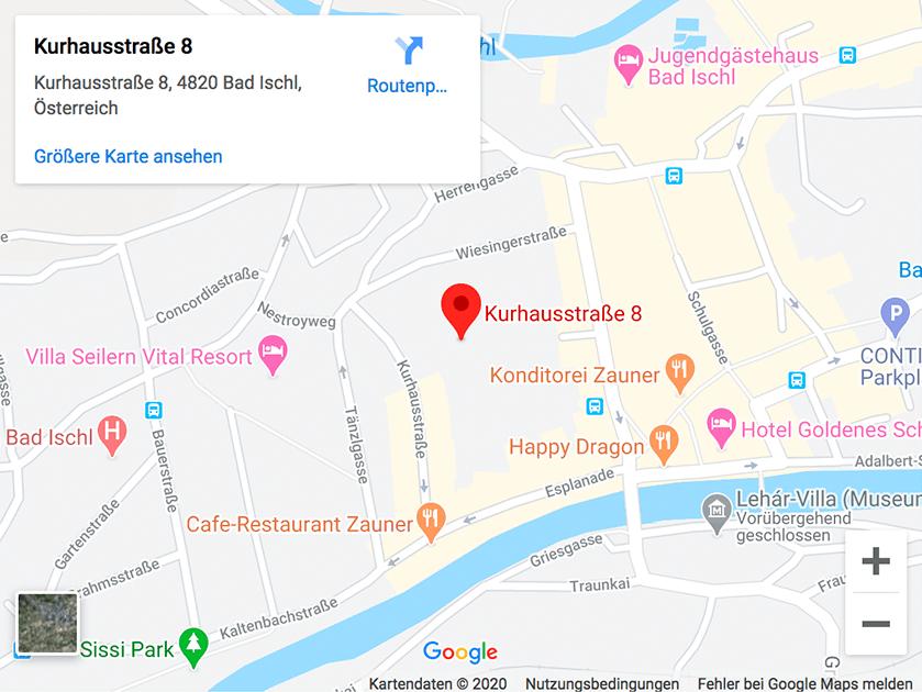Anreise zum Familienkongress in Bad Ischl