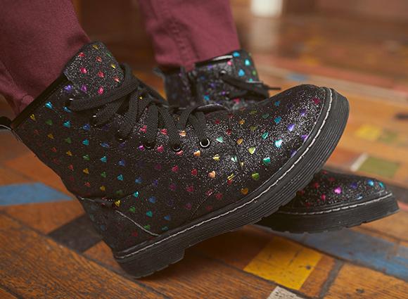 Schuhe für große Schritte