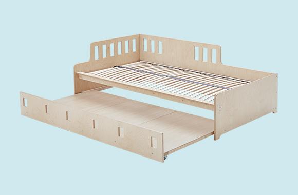 Kinderbett zum Ausziehen