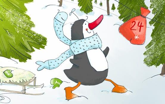 Piku Pinguin – Neugier macht schlau