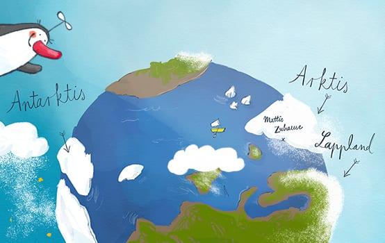 Drei Fragen zu Südpol, Grönland … und dem Meer dazwischen