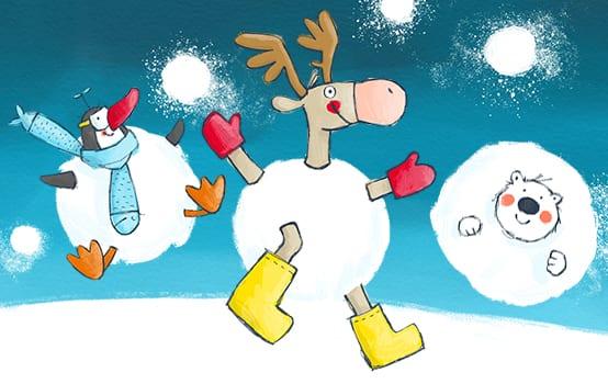 Unser Abenteuer im Schnee ...und spannendes Schnee-Wissen!