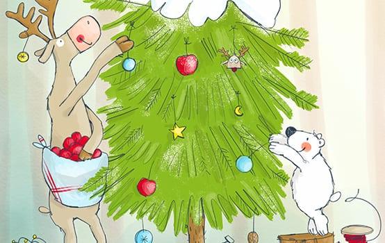 Wir holen unseren Weihnachtsbaum
