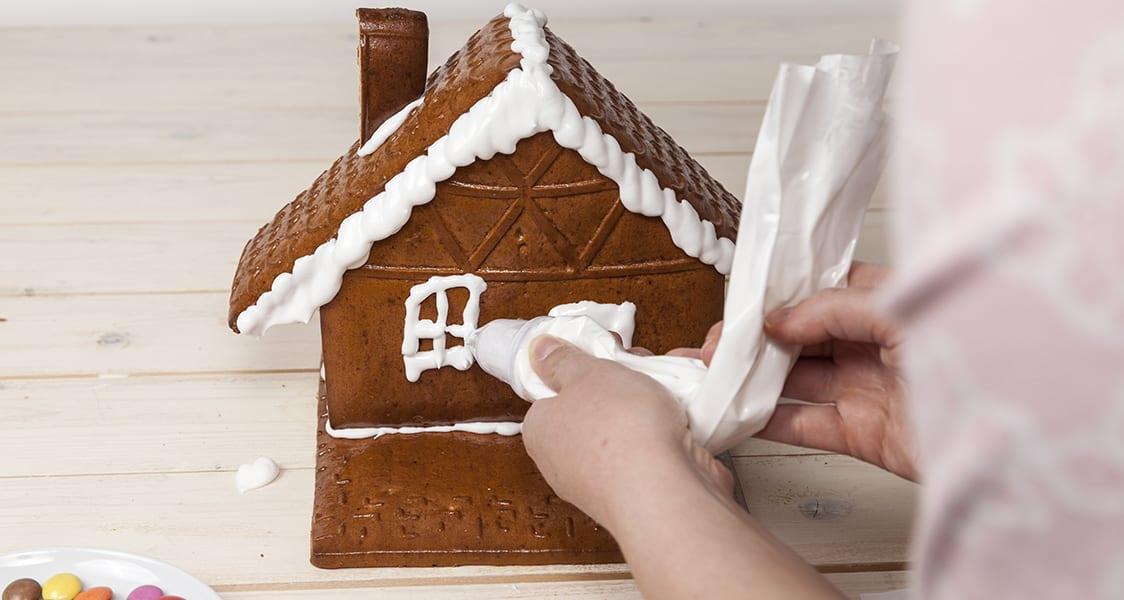 Lebkuchenhaus Schritt 4