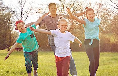 Bewegungsspaß für die ganze Familie