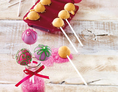 Backen mit Kindern: Cake Pops