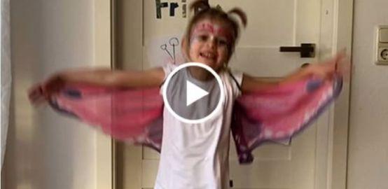 Schminkvideo zum Schmetterling