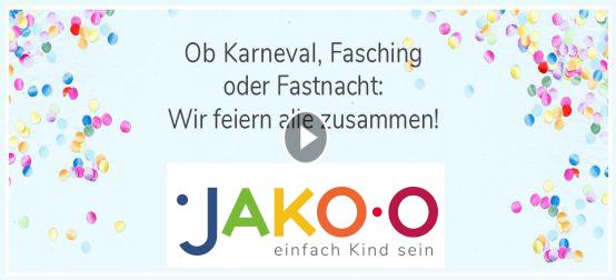 Video JAKO-O Kinderschminken zu Fasching