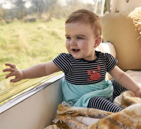 Babys im Frühling richtig anziehen: Materialkunde