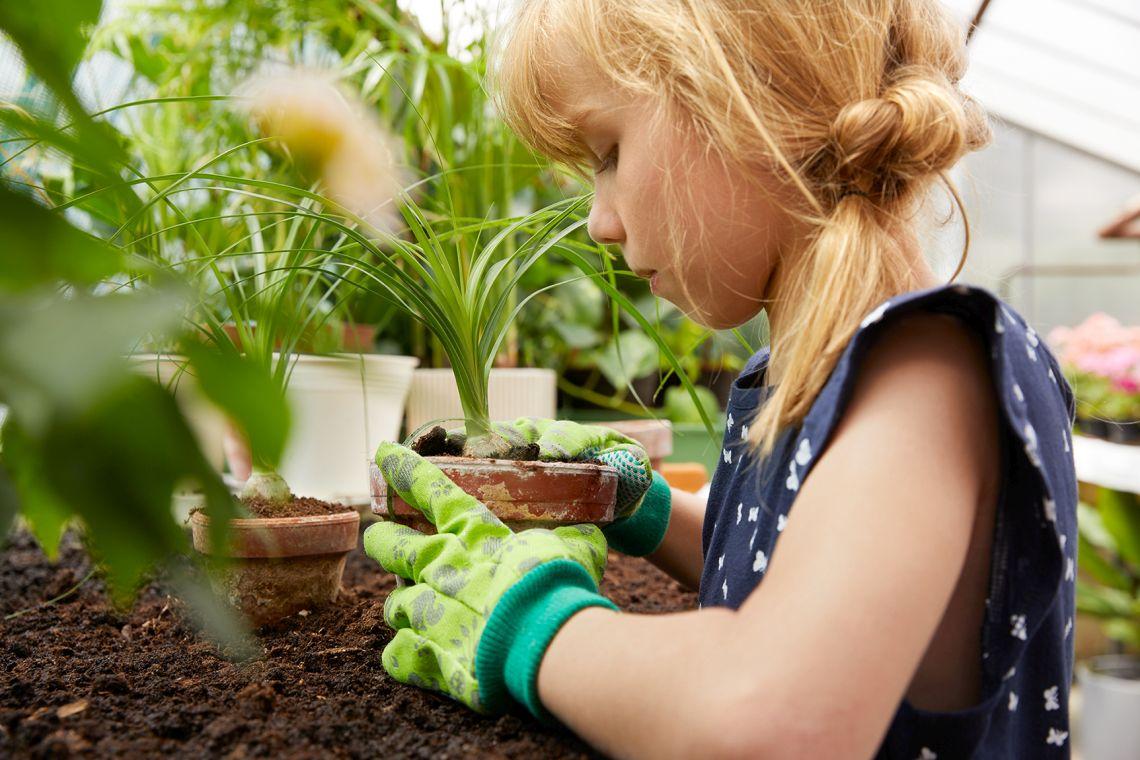 Garten-Ideen: Gärtnern mit Kindern