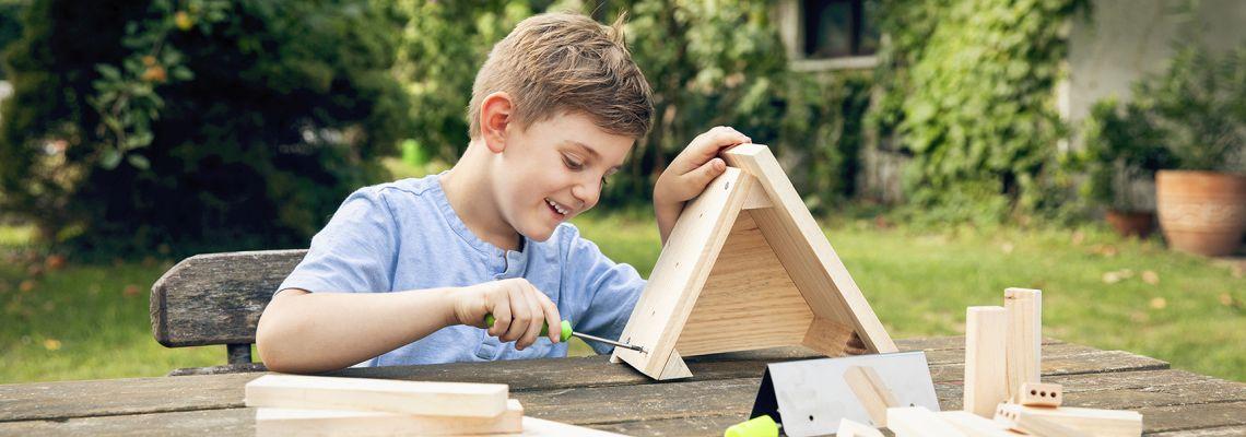 Insektenhotel bauen: Anleitungen & Tipps