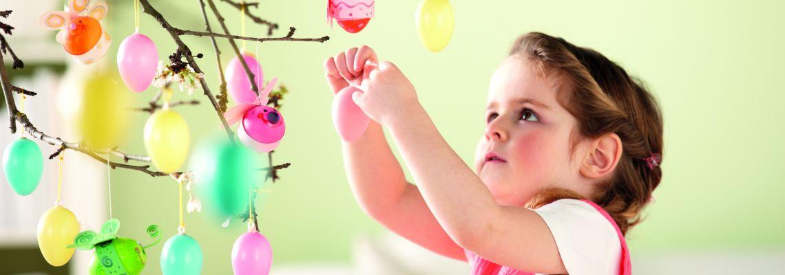 Osterdeko basteln mit Kindern: Ideen & Tipps