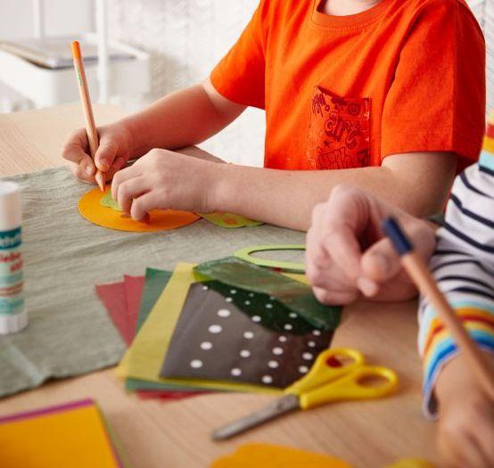 Osterdeko basteln mit Kindern: Materialien