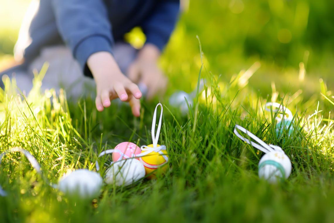 Ostern mit Kindern: Eiersuche