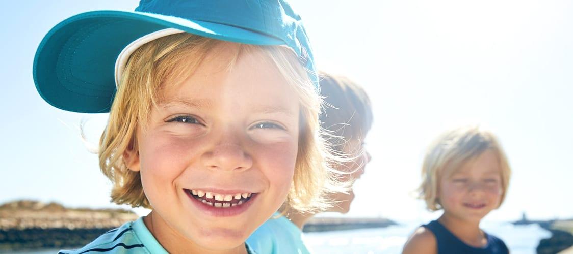 Zuverlässiger Sonnenschutz für Baby- und Kinderhaut