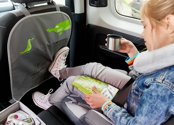 Rücksitz-Paradies für kleine Mitfahrer