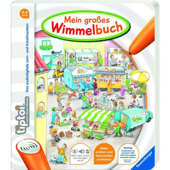 Ravensburger tiptoi® 44567 Mein großes Wimmelbuch