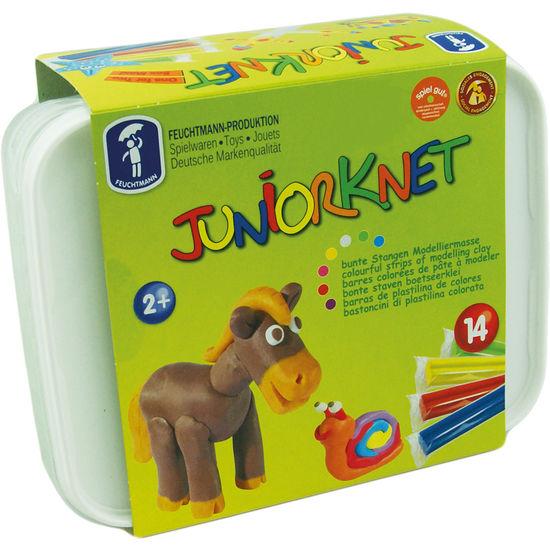 Junior Knete, 14 Stangen