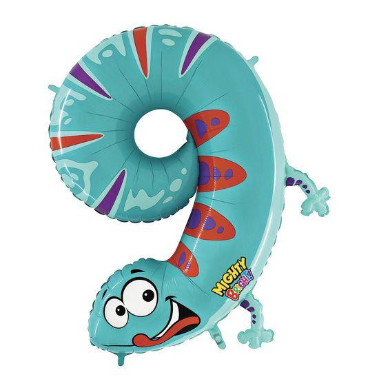 Folienballon Zahlen, 1 Stück