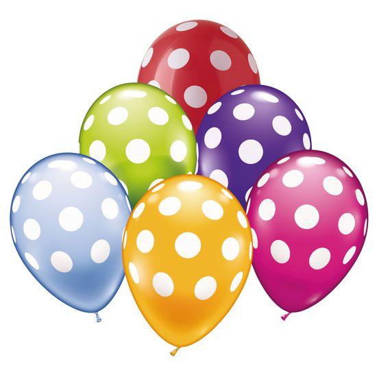 Luftballons Punkte