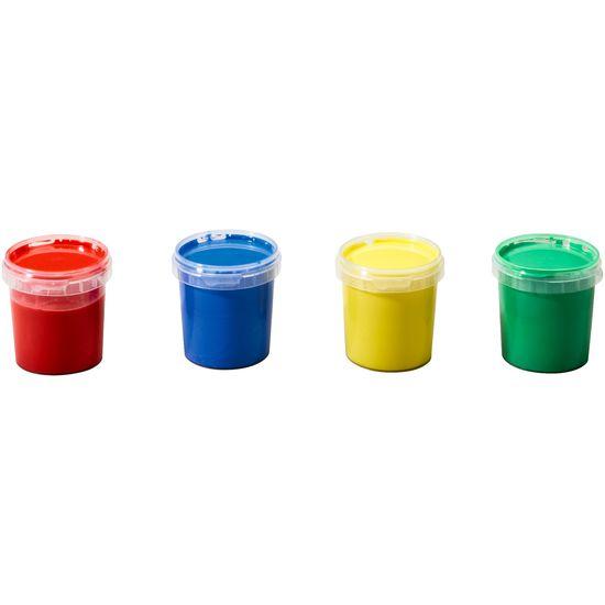 ökoNORM® nawaro Fingerfarben auswaschbar, 4 x 150 g