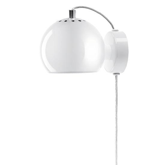 FRANDSEN Wandlampe Kugel, Ø 12 cm
