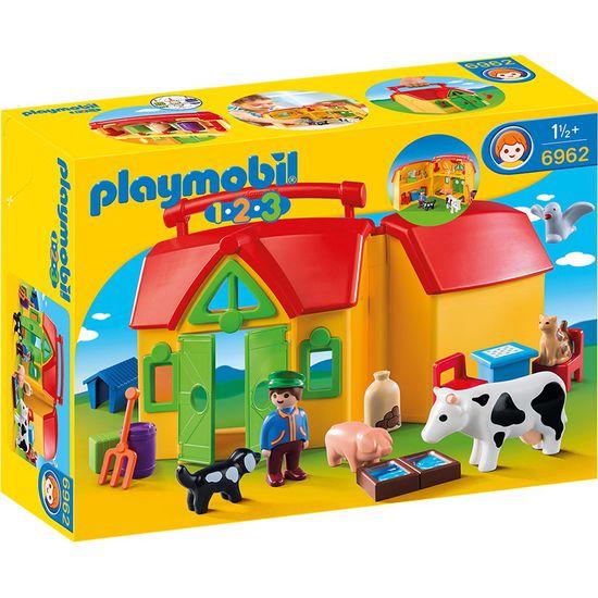 PLAYMOBIL® 1.2.3 6962 Mein Mitnehm-Bauernhof