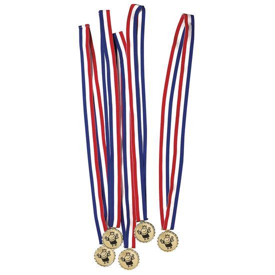 Medaillen-Satz JAKO-O, 5 Stück