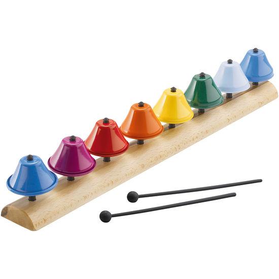 Glockenspiel mit Notenblatt
