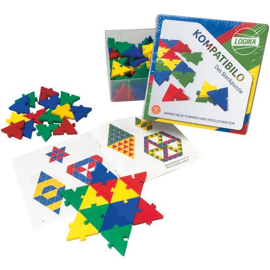 LOGIKA Kompatibilo - Das Steckpuzzle, 72-teilig