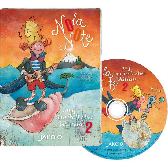 JAKO-O Kinder-CD Nola Note auf musikalischer Weltreise, Teil 2