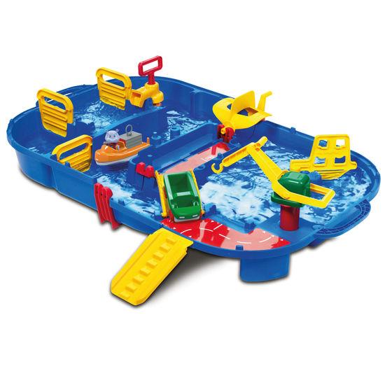 Aquaplay<sup>®</sup> Wasserbahn LockBox 1516 klappbar, 27-teilig