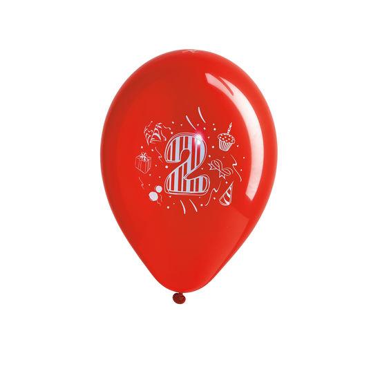 Geburtstagsballons Zahlen