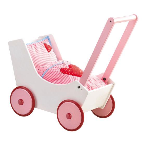 Puppenwagen Herzen HABA 950