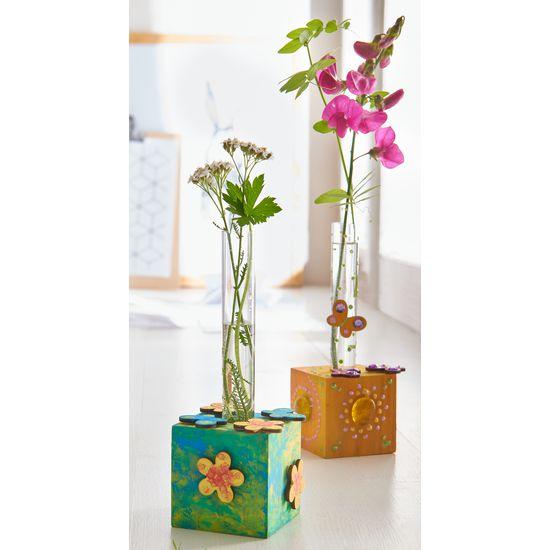 Sachenmacher Holz-Blumenwürfel