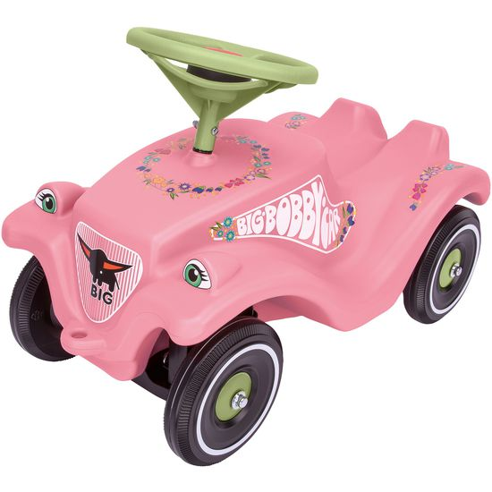 BIG Bobby-Car Classic Flower rosa