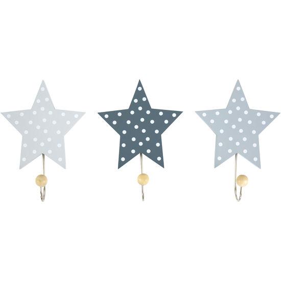 Wandhaken Sterne