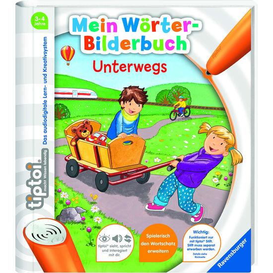 Ravensburger tiptoi® 55411 Mein Wörter-Bilderbuch unterwegs