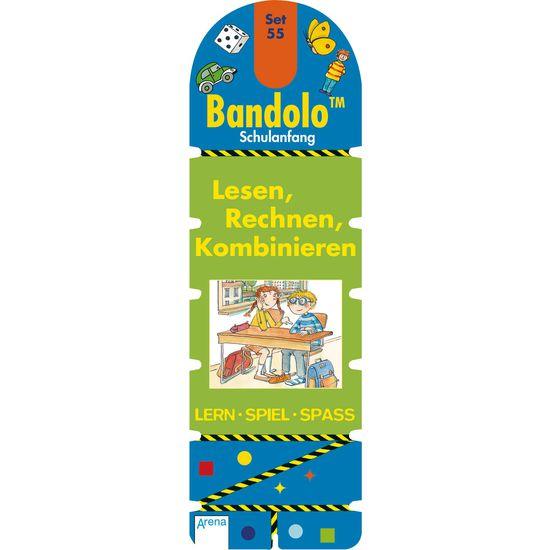 Lernspiel Bandolo™ Schulanfang – Lesen, Rechnen, Kombinieren