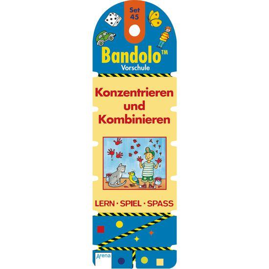 Lernspiel Bandolo™ Vorschule – Konzentrieren und Kombinieren