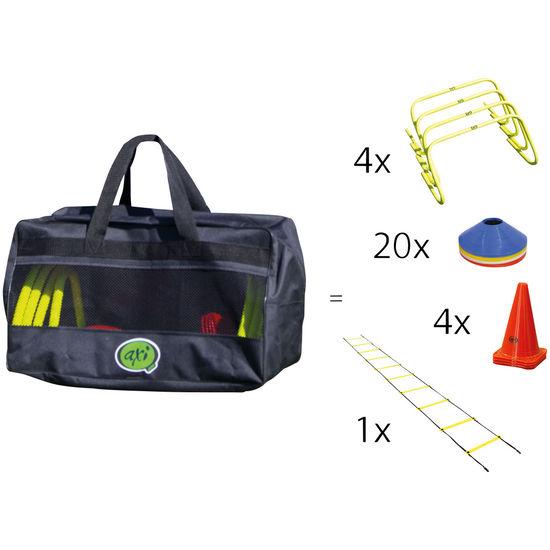 axi Training Sporttasche Fußball, 30-teilig