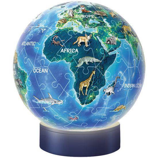 Ravensburger 3D Puzzle® 11844 Nachtlicht Erde - Puzzle-Ball