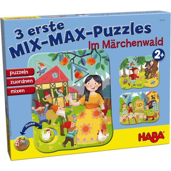 3 erste Mix-Max-Puzzles – Im Märchenwald HABA 304432
