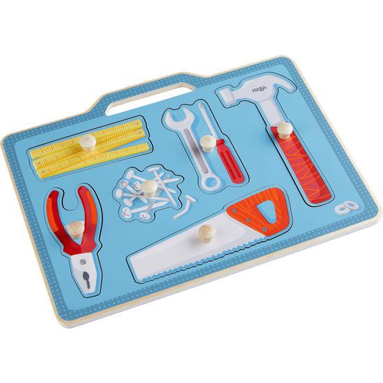 Greifpuzzle Werkzeugkasten HABA 304593