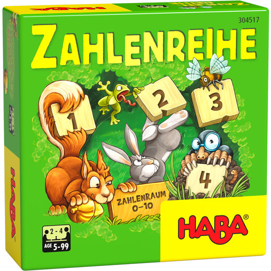 Zahlenreihe HABA 304517