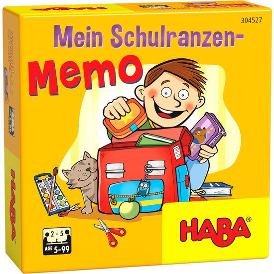 Mein Schulranzen-Memo HABA 304527