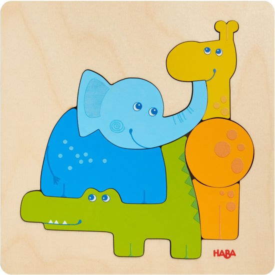 Holzpuzzle Zootiere HABA 304609